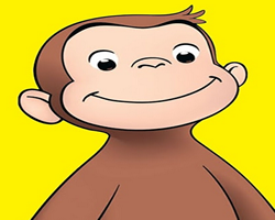 Curious George Hidden Letters