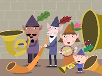 Ben and Holly the Elf Musicians