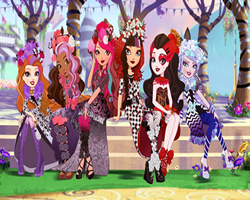 Ever After High Hidden Letters