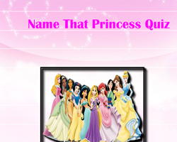 Name That Princess Quiz