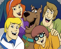 Scooby Doo And Friends Sliding Puzzle