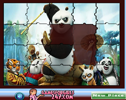 Sort My Tiles Kung Fu Panda 3