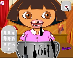 Popular games for kids for Baby dora tooth decoration