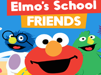 Elmo School Friends