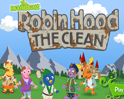 Backyardigans Robin Hood The Clean